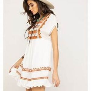 NWT Free People Women's Sunrise Wander Dress
